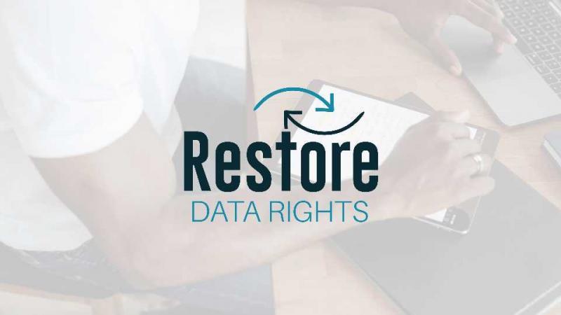 Restore data rights logo